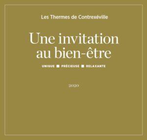 Plaquette invitation au bien-être 2020